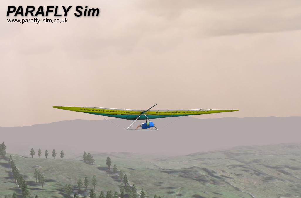 3d hang glider simulator parafly
